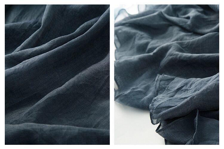 新品登場 糸 シルク 薄い ノースリーブ 着心地のいい ワンピースひざ丈スカートロング スカートスカートZ39**_画像3