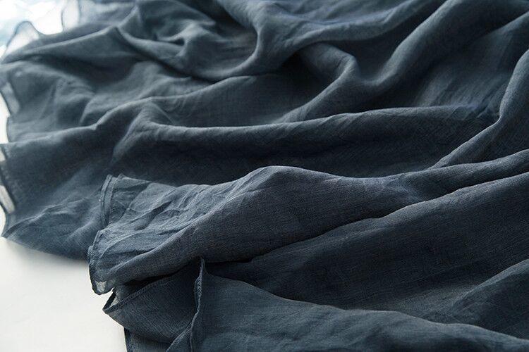 新品登場 糸 シルク 薄い ノースリーブ 着心地のいい ワンピースひざ丈スカートロング スカートスカートZ39**_画像8