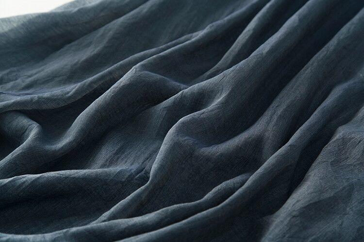 新品登場 糸 シルク 薄い ノースリーブ 着心地のいい ワンピースひざ丈スカートロング スカートスカートZ39**_画像9