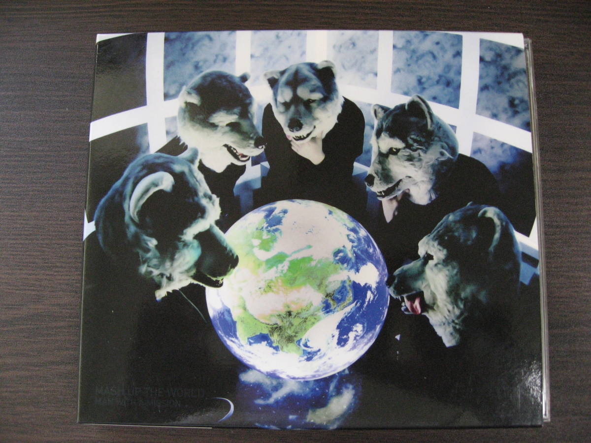 CD MAN WITH A MISSION MASH UP THE WORLD