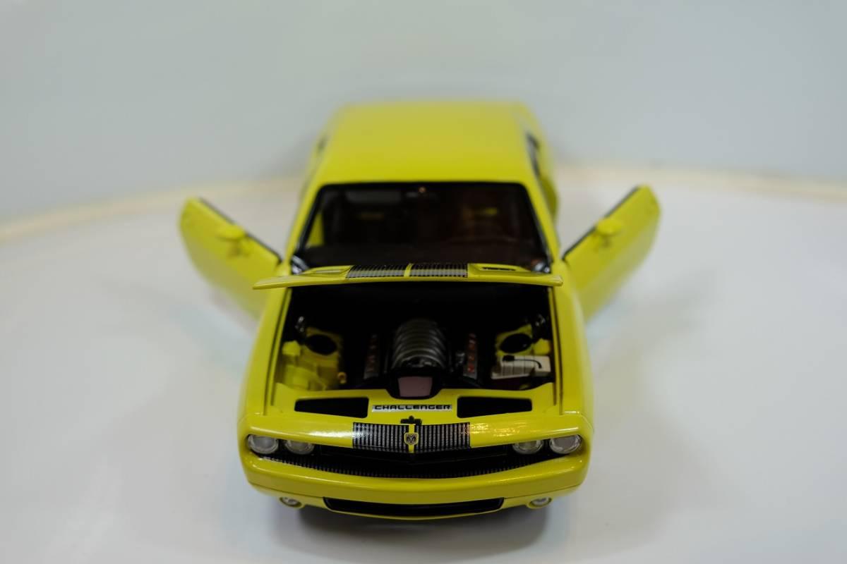 HIGHWAY 61 COLLECTIBLES 1/18 DODGE CHALLENGER CONCEPT CAR 50627 希少 1/18 ダッジチャレンジャー コンセプトカー_画像6