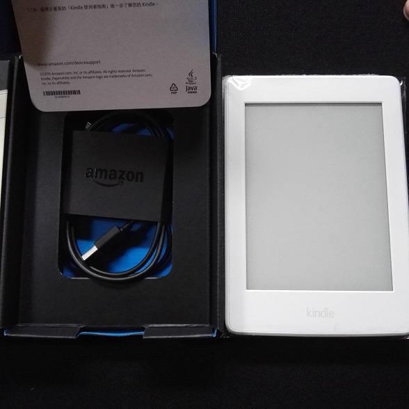 アマゾン Kindle Paperwhite(第7世代) 32GB &オートスリープ機能付き保護カバー_画像2