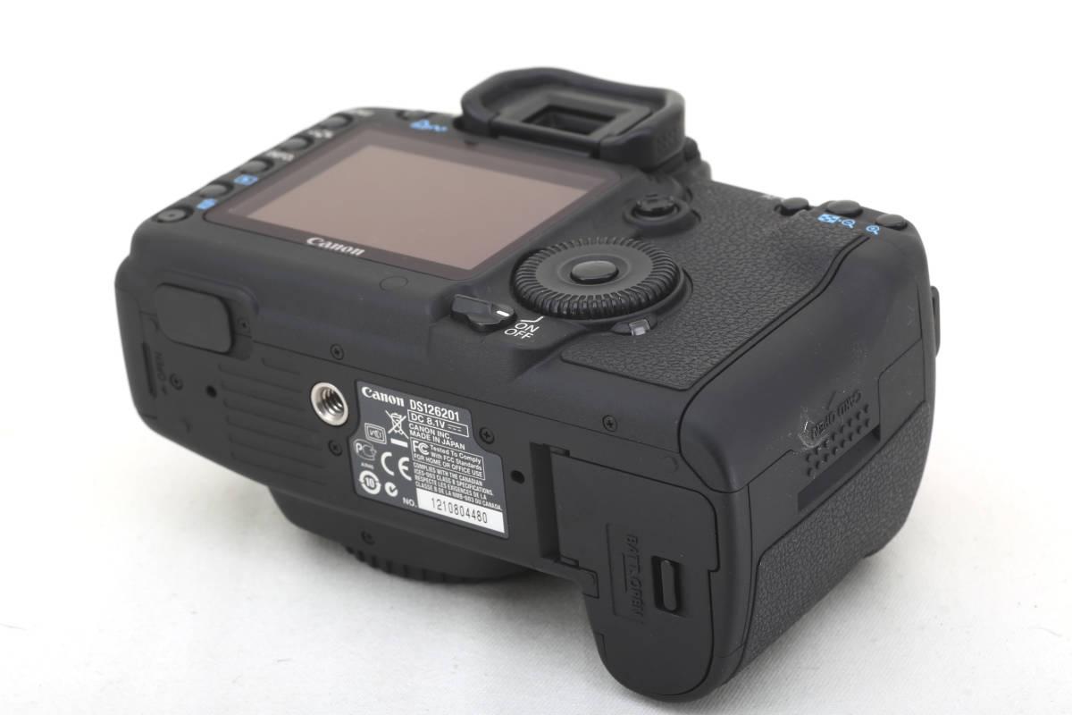 ★極美品★キヤノン Canon EOS 5D Mark II 元箱付_画像5