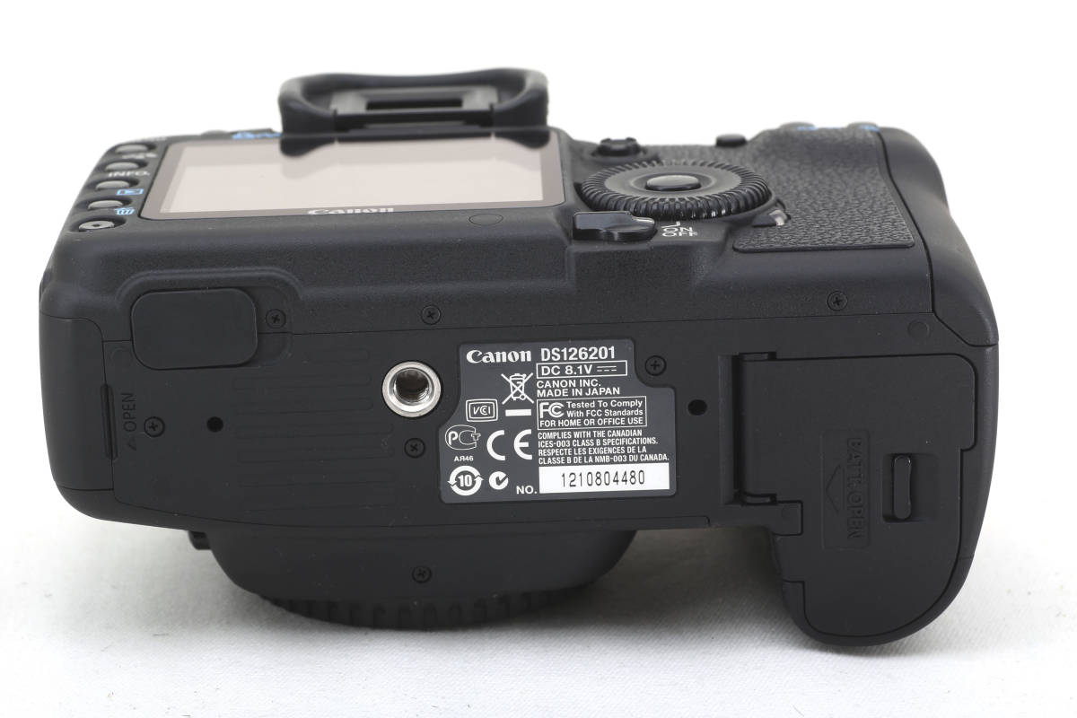 ★極美品★キヤノン Canon EOS 5D Mark II 元箱付_画像10