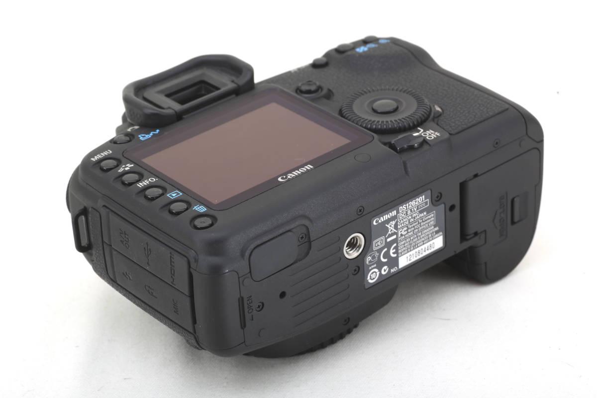★極美品★キヤノン Canon EOS 5D Mark II 元箱付_画像6