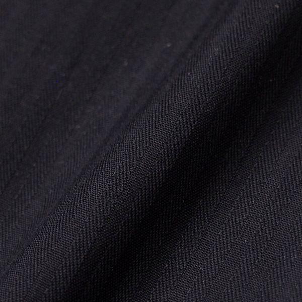 新品 春夏 日本製 定価1.6万 DURBAN ダーバン ピンホールシャドーストライプブラックドレスシャツ 長袖シャツ 39-86 黒 メンズ ビジネス_画像5