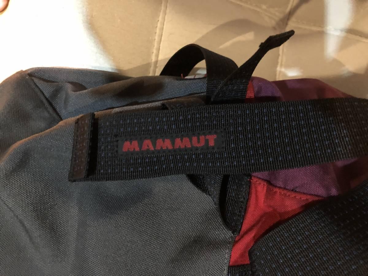 中古良品 MAMMUT 28Lバックパック GRANIT28_画像7