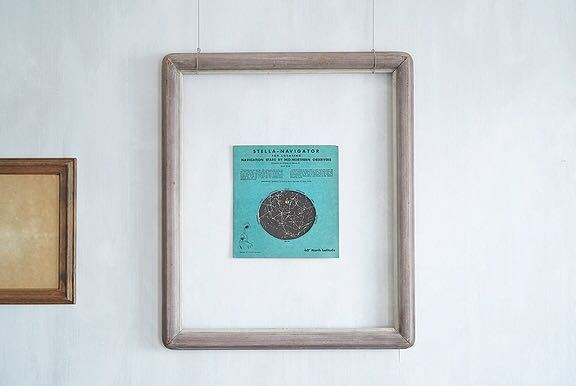 【1957年 古い星座早見盤 天体観測 ビンテージ 紙もの】宇宙 星座 アンティーク ブロカント レトロ 古道具 紙物 オブジェ インテリアに_画像5