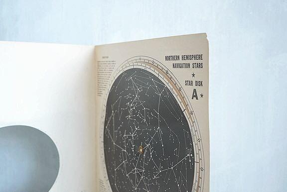 【1957年 古い星座早見盤 天体観測 ビンテージ 紙もの】宇宙 星座 アンティーク ブロカント レトロ 古道具 紙物 オブジェ インテリアに_画像8