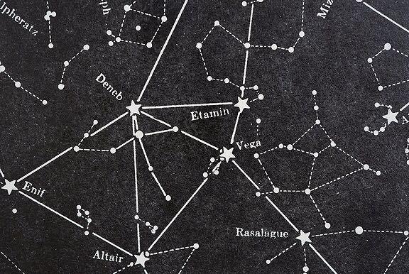 【1957年 古い星座早見盤 天体観測 ビンテージ 紙もの】宇宙 星座 アンティーク ブロカント レトロ 古道具 紙物 オブジェ インテリアに_画像7