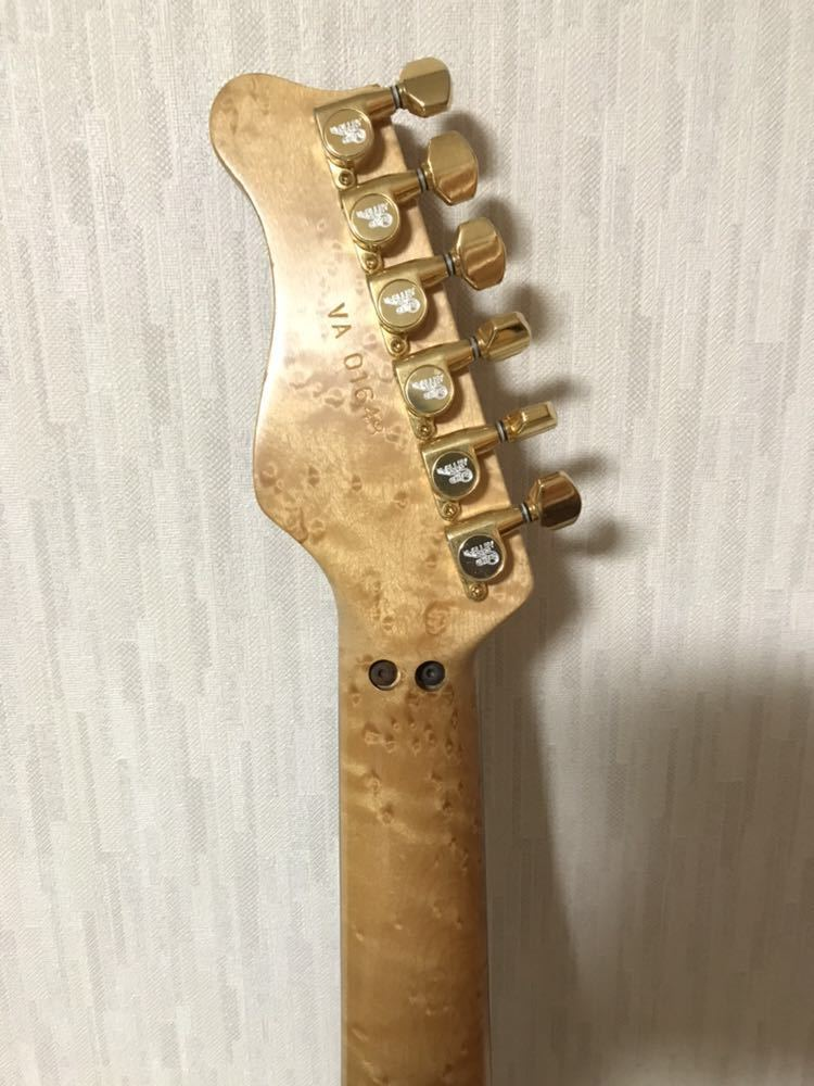 Valley Arts Custom Pro Steve Lukather 1992年製_画像5