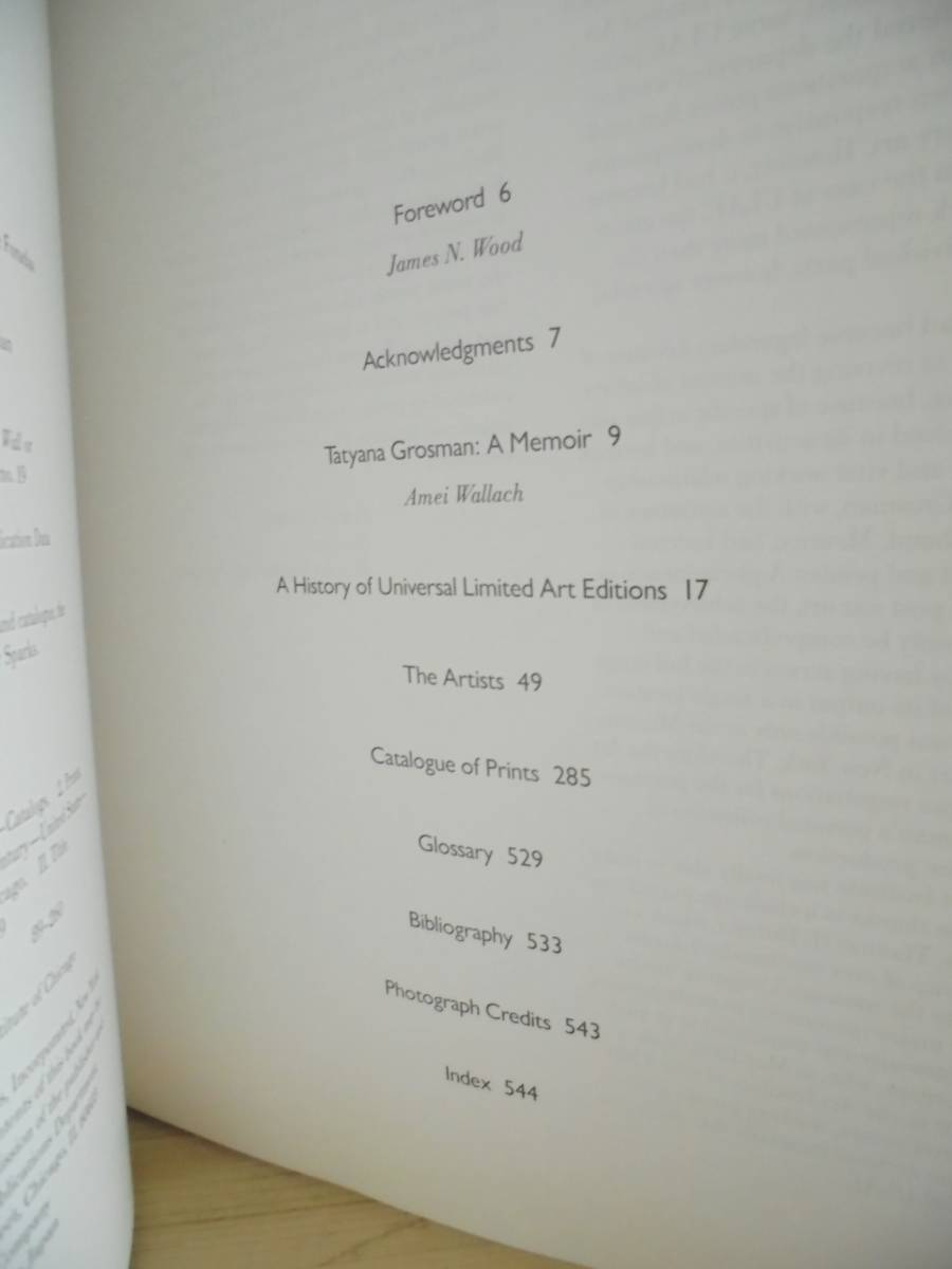 Universal Limited Art Editions Esther Sparks  版画作品集 フランケンサーラ ジャスパージョーンズ バーネットニューマン_画像3