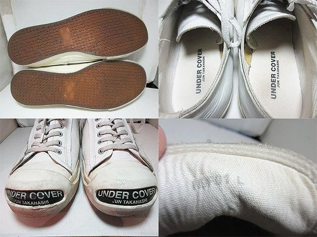 アンダーカバー スニーカー 白 size:L