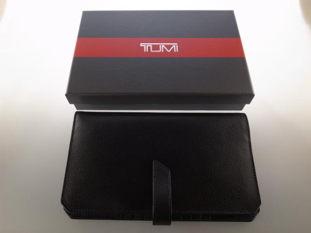●美品 TUMI トゥミ トラベルウォレット オーガナイザー ウオレット 財布 クラッチバッグ パスポートケース●