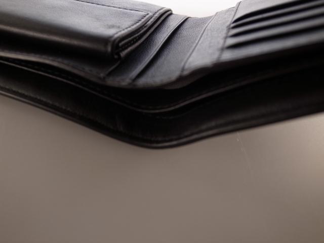 ●美品 TUMI トゥミ 最高級ライン モナコ MONACO ウオレット 財布 二つ折り財布 小銭入れ コインケース●_画像6