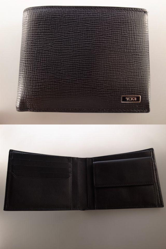 ●美品 TUMI トゥミ 最高級ライン モナコ MONACO ウオレット 財布 二つ折り財布 小銭入れ コインケース●
