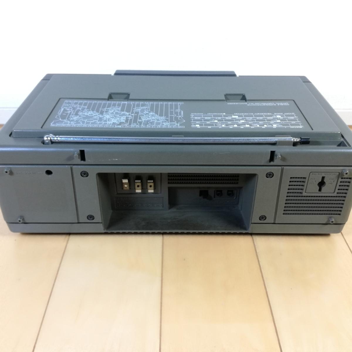 美品!! 動作確認済!! National Panasonic FM-MW-SW 31バンドレシーバー RF-3100 アンティークラジオ _画像8