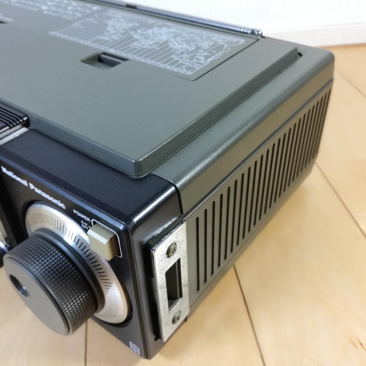 美品!! 動作確認済!! National Panasonic FM-MW-SW 31バンドレシーバー RF-3100 アンティークラジオ _画像6
