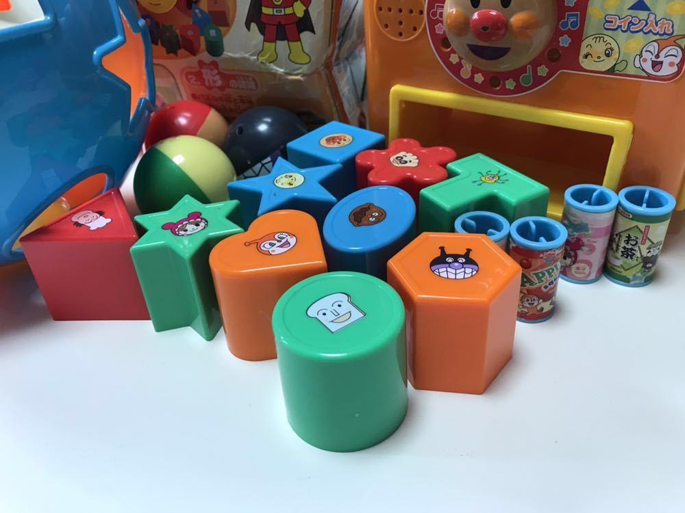 アンパンマン アンパンマンおもちゃ セット まるまるパズル 自動販売機 ジュースやさん ガチャガチャ中身 バイキンマン 知育玩具_画像4