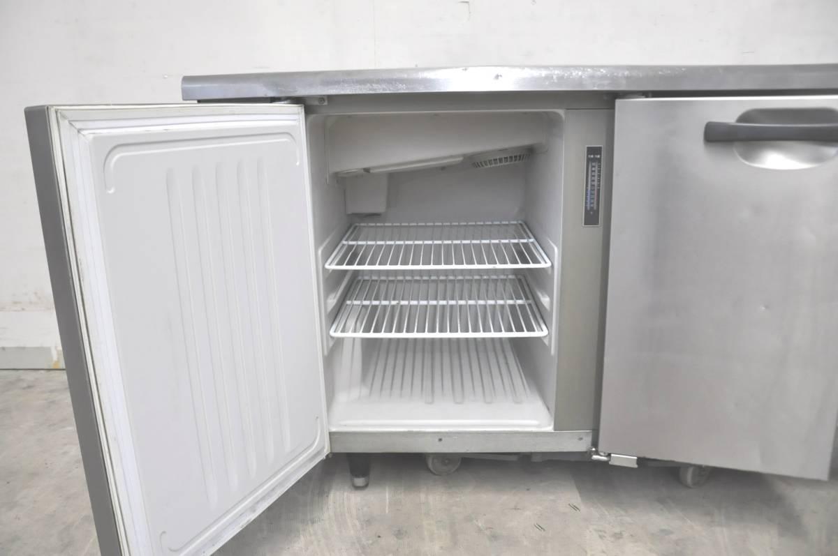 ★☆50-015 HOSHIZAKI ホシザキ 台下冷凍冷蔵庫 RFT-150PNC 業務用3ドア W1500×D600×H800 コールドテーブル型☆★_画像8