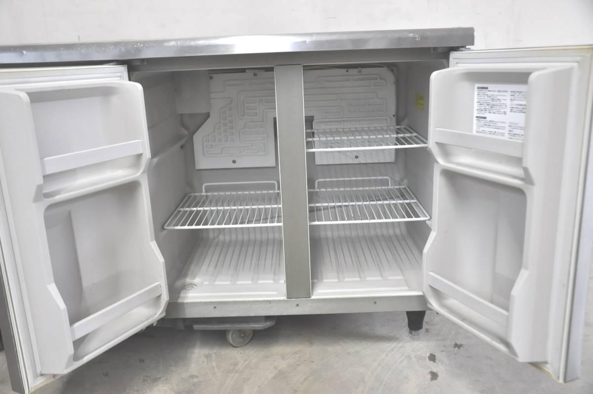 ★☆50-015 HOSHIZAKI ホシザキ 台下冷凍冷蔵庫 RFT-150PNC 業務用3ドア W1500×D600×H800 コールドテーブル型☆★_画像4