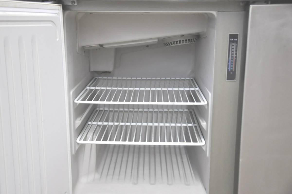 ★☆50-015 HOSHIZAKI ホシザキ 台下冷凍冷蔵庫 RFT-150PNC 業務用3ドア W1500×D600×H800 コールドテーブル型☆★_画像9