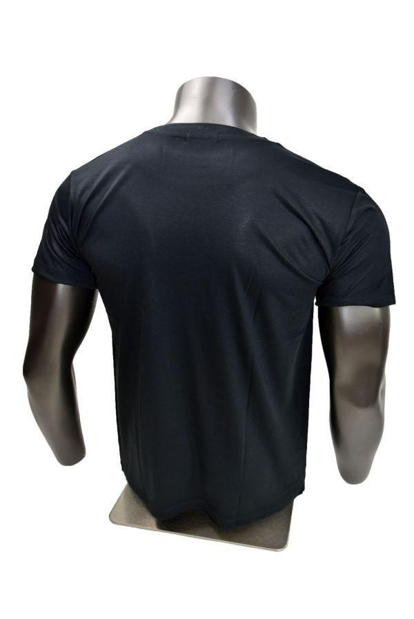 ■メンズ ボブ・マーリー(Bob Marley)レゲエTシャツ Lサイズ 黒/ブラック カラフル プリント 半袖 丸首■T-shirt_画像3