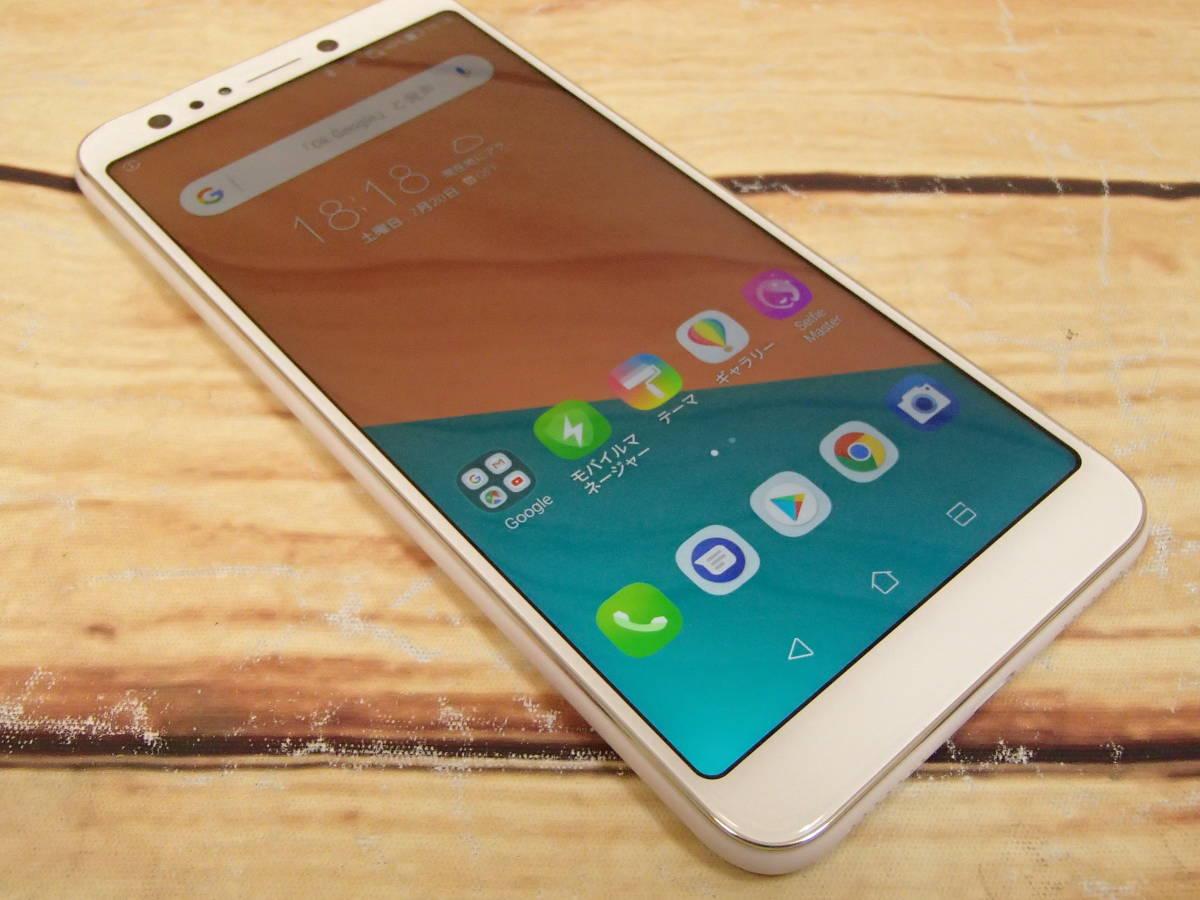 ○ASUS ZenFone 5Q (ZC600KL)ZC600KL-WH64S4 ムーンライトホワイト SIMフリー 訳有○_画像3