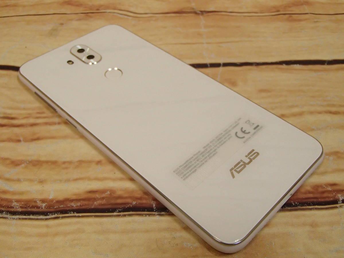 ○ASUS ZenFone 5Q (ZC600KL)ZC600KL-WH64S4 ムーンライトホワイト SIMフリー 訳有○_画像5