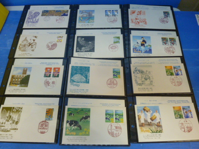 72 様々な 消印有 記念切手 日本の切手 まとめて 収集家 アルバム入り _画像4