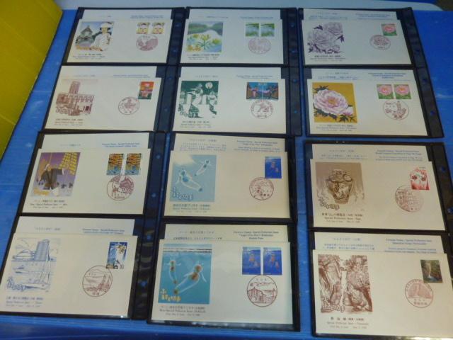 72 様々な 消印有 記念切手 日本の切手 まとめて 収集家 アルバム入り _画像5