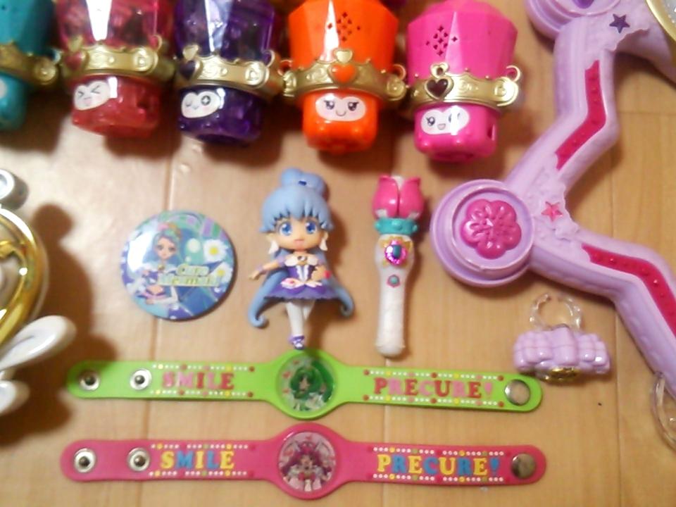 プリキュアおもちゃセット★スイートプリキュア/ハピネスチャージプリキュア_画像5
