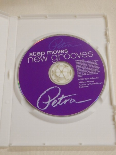 812F24◆エクササイズDVD◆STEP MOVES NEW GROOVES◆PETRA KOLBER◆ステップ_画像3