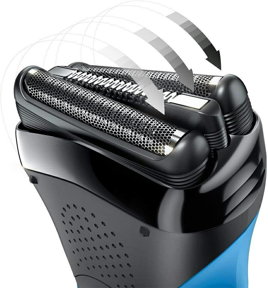 ブラウン メンズ電気シェーバー シリーズ3 310s 3枚刃 水洗い/お風呂剃り可 かみそり 剃刀 カミソリ_画像4