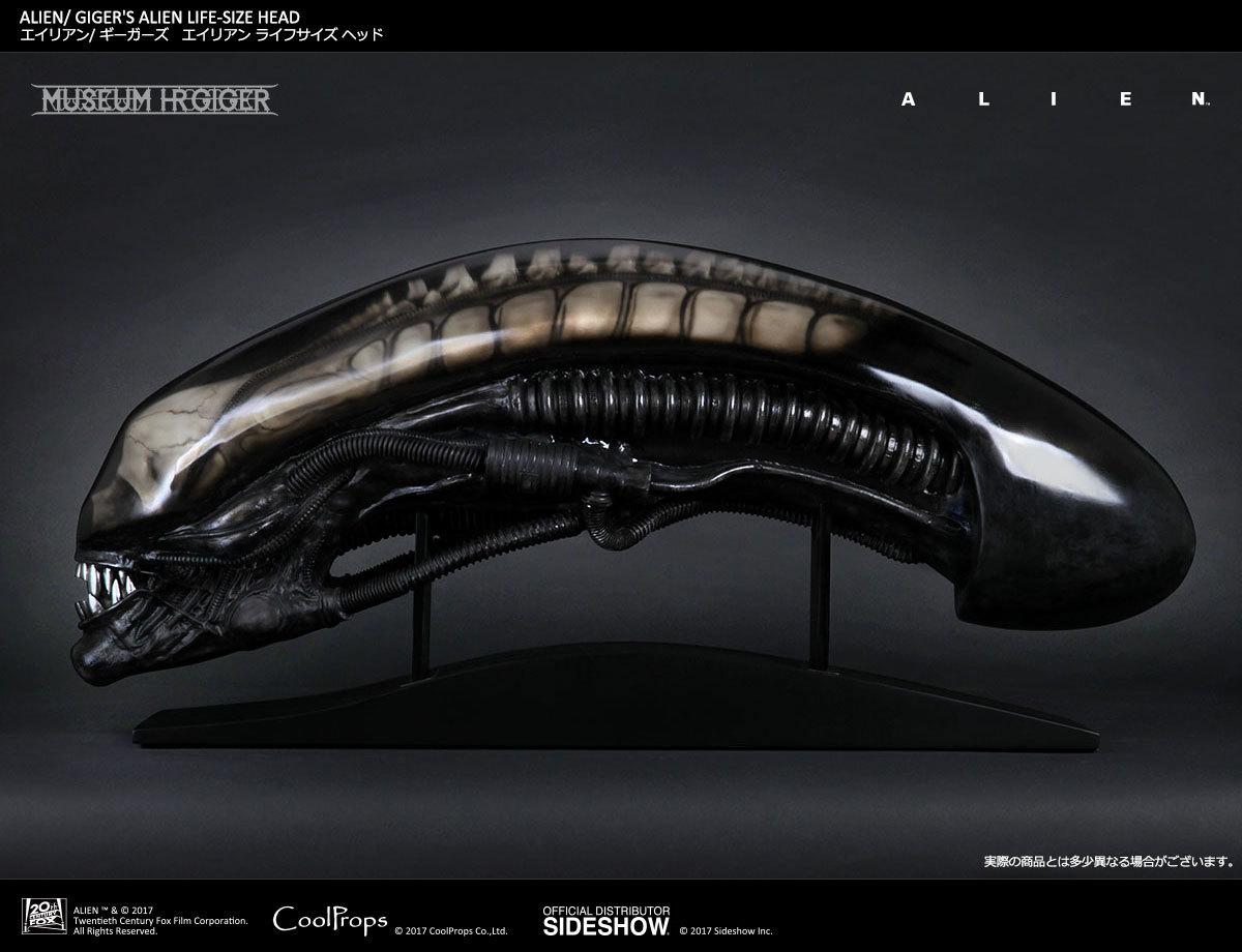 【玩具模型】SIDESHOW LIFE-SIZE HEAD GIGER'S ALIEN サイドショウギーガーズエイリアンヘッド限定版樹脂模型コレクション1:1スケール R48