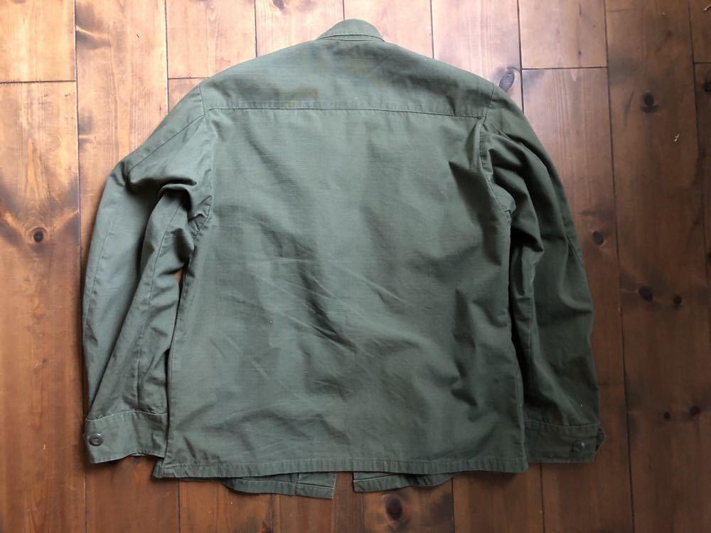 アメリカ軍 ジャングルファティーグジャケット ショート リメイク SMALL ミリタリー ビンテージ ベトナム戦争 古着 _画像3