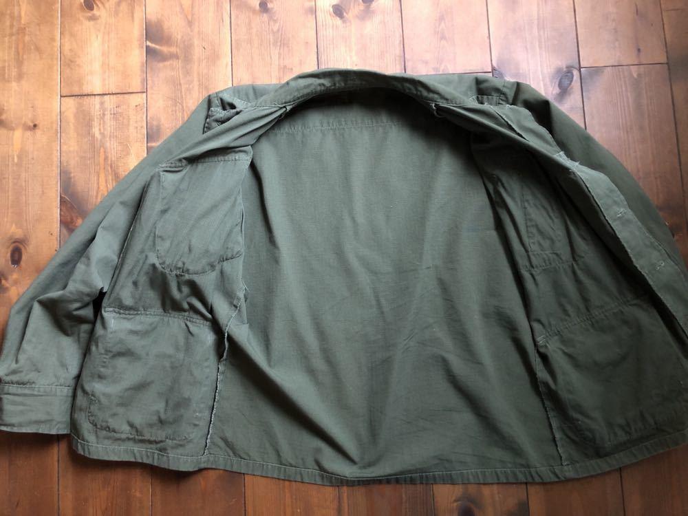 アメリカ軍 ジャングルファティーグジャケット ショート リメイク SMALL ミリタリー ビンテージ ベトナム戦争 古着 _画像5