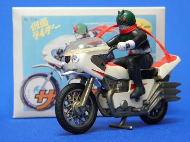 ★当時物 ポピー 仮面ライダー ミニミニ サイクロン号 ★ポピニカ 超合金 ソフビ