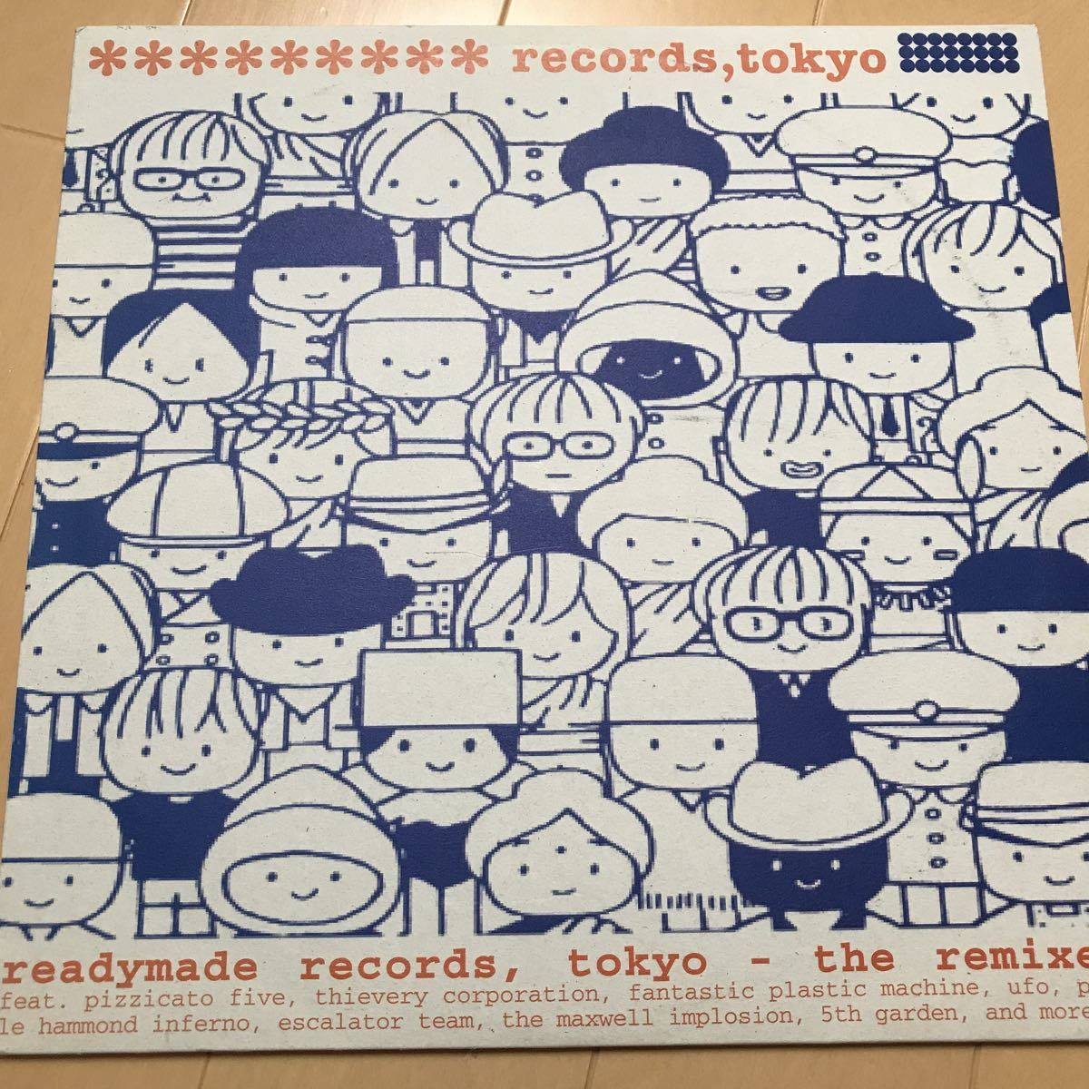 readymade records,tokyo/the remix ,lupin the 3rd,pizzicato five,FPM,ルパン 2LP