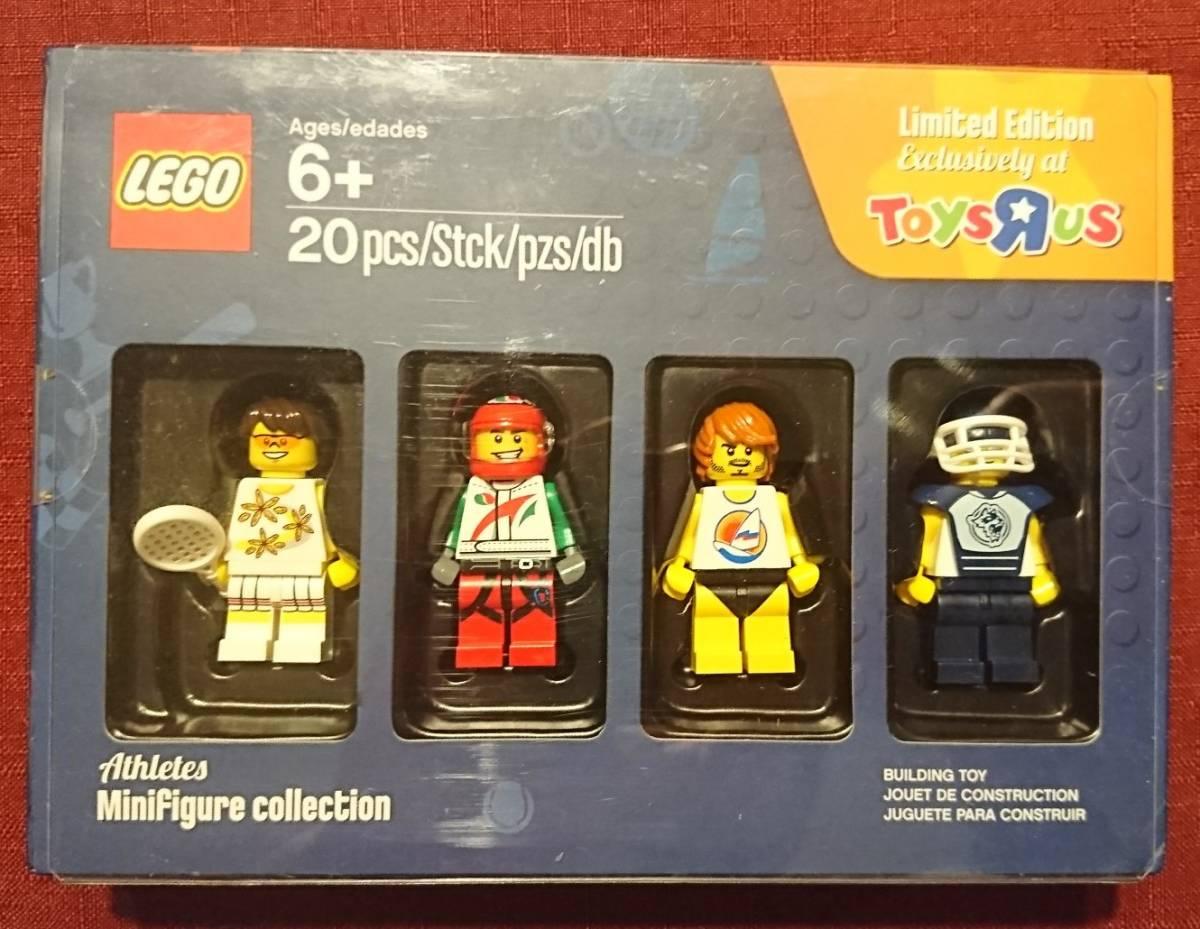 即決 レゴ LEGO トイザらス限定 5004423 ミニフィグ 4体 Athletes セット3 箱入り未使用保管品 送料無料:定形外_画像1