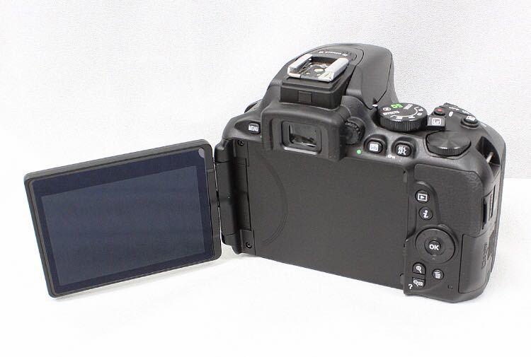 【新品同様】Nikon ニコン D5600 ダブルズーム ケース 総ショット300回未満 ニコンバッグ付き NDフィルター2枚+ステップアップリング付き_画像5