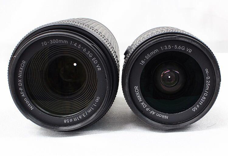 【新品同様】Nikon ニコン D5600 ダブルズーム ケース 総ショット300回未満 ニコンバッグ付き NDフィルター2枚+ステップアップリング付き_画像7