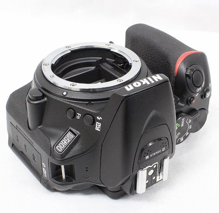 【新品同様】Nikon ニコン D5600 ダブルズーム ケース 総ショット300回未満 ニコンバッグ付き NDフィルター2枚+ステップアップリング付き_画像3