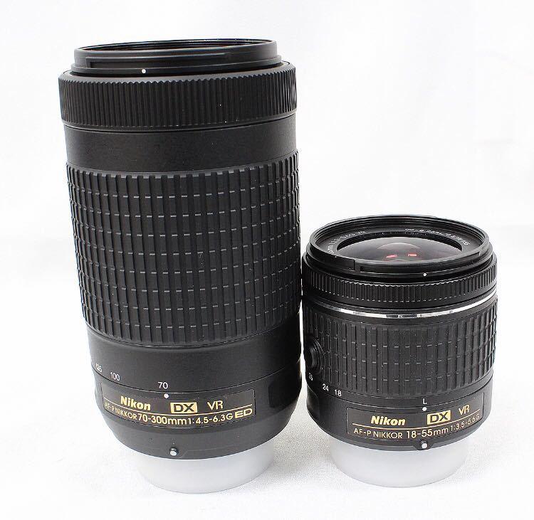 【新品同様】Nikon ニコン D5600 ダブルズーム ケース 総ショット300回未満 ニコンバッグ付き NDフィルター2枚+ステップアップリング付き_画像6