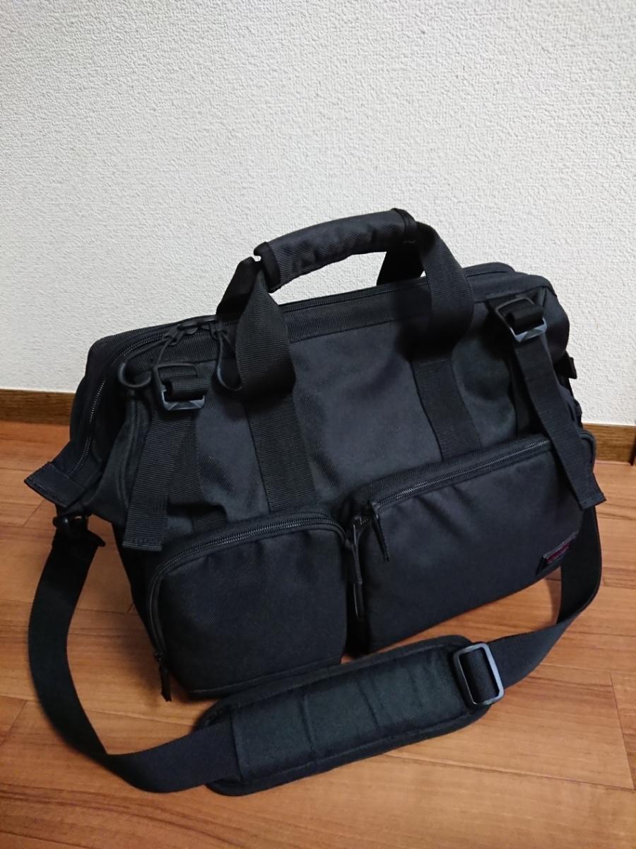 中古美品 HAKUBA LUFT DESIGN ルフトデザイン スイフト02 ショルダーバッグ L 黒