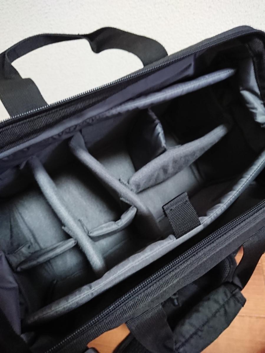 中古美品 HAKUBA LUFT DESIGN ルフトデザイン スイフト02 ショルダーバッグ L 黒_画像3