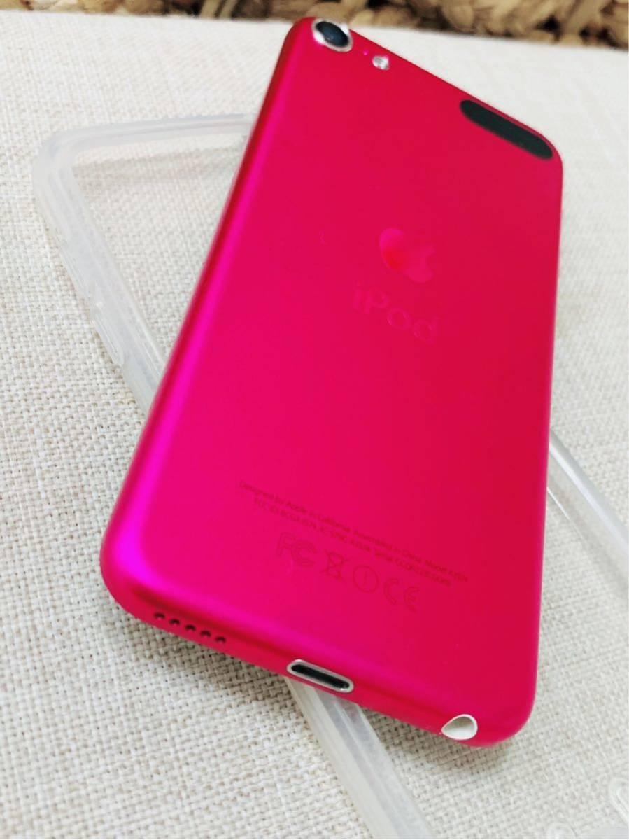 apple iPod touch ピンク第6世代 32GB MKHQ2J/A 傷なし極美品_画像5