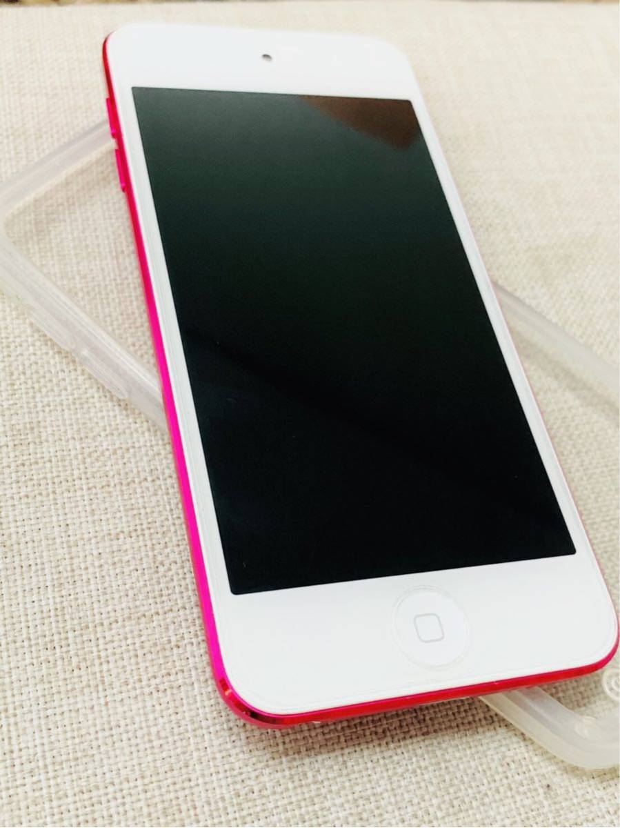 apple iPod touch ピンク第6世代 32GB MKHQ2J/A 傷なし極美品_画像2