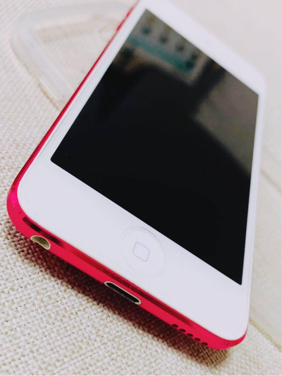 apple iPod touch ピンク第6世代 32GB MKHQ2J/A 傷なし極美品_画像3