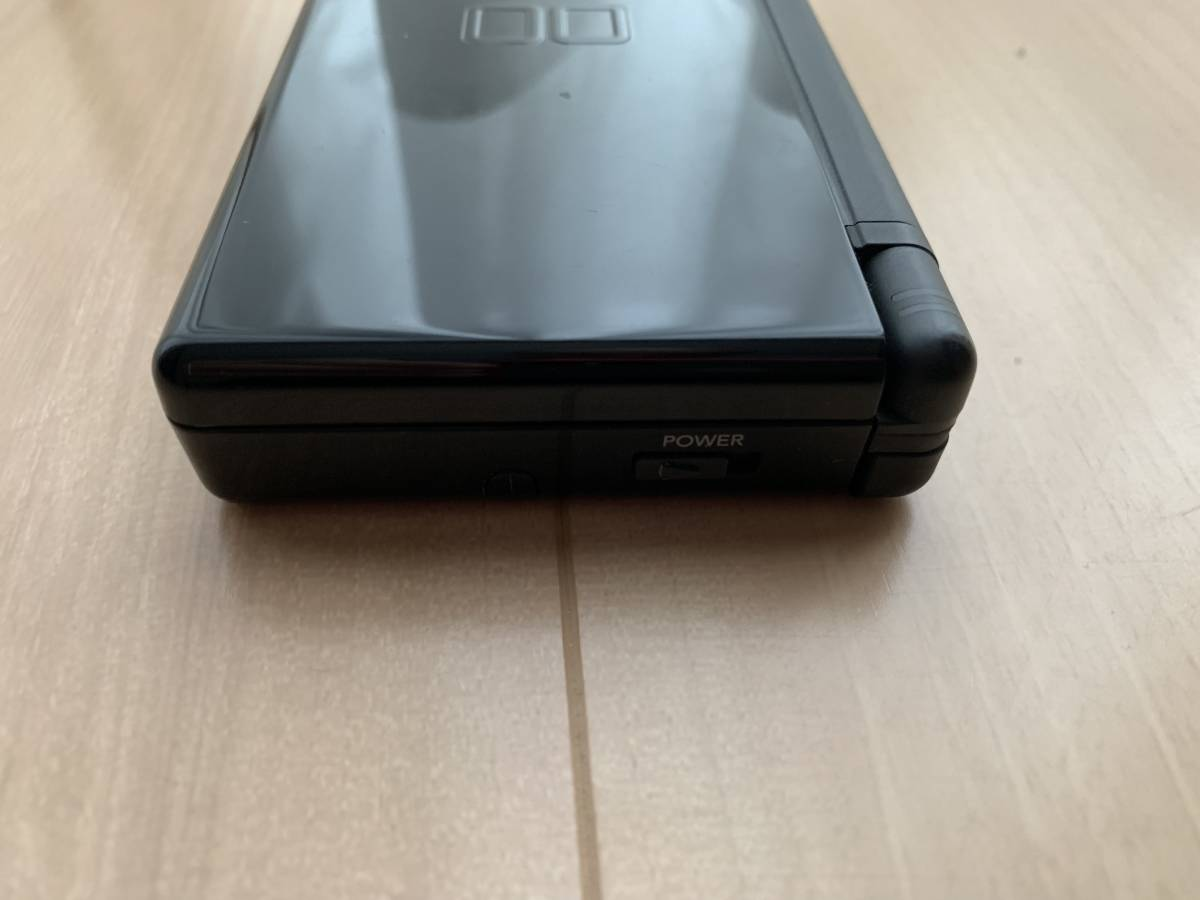 美品 NINTEMDO DS Lite ジェットブラック(JetBlack) _画像3